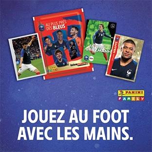 Intermarché : Cartes Panini foot «Les Bleus» offertes