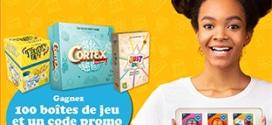 Concours Bordas : 100 boîtes de jeu Asmodee à gagner