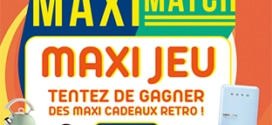 Jeu Maxi Match : cadeaux vintages à gagner