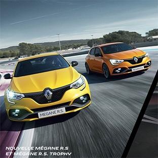 Jeu Renault Sport : Week-end et cadeaux RS à gagner