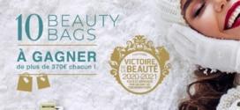 10 Beauty Bags (avec + de 370€ de produits de beauté) à gagner
