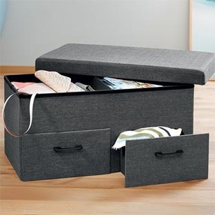 Lidl : banc-coffre à tiroirs pas cher