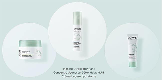 Tentez de tester gratuitement 3 cosmétiques Jowaé