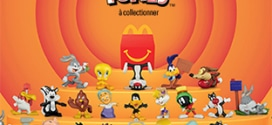 Jouet Looney Tunes McDo : 12 figurines à collectionner