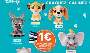 Vignettes collectors Netto : Peluches et verres Disney moins chers