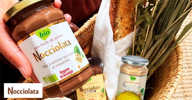 Tentez de gagner des pâtes à tartiner bio Nociolata avec Télé 7 jours