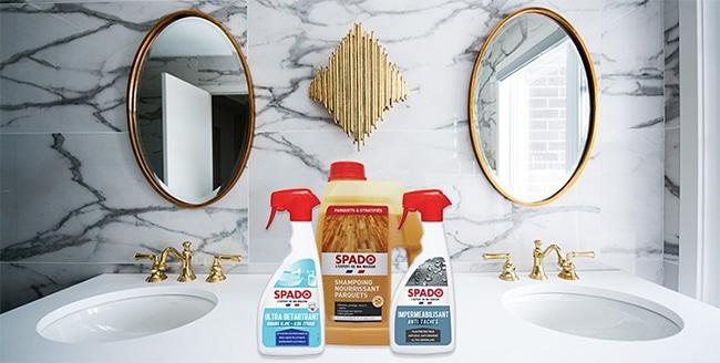 Tester des produits ménager Spado avec Maison&Travaux