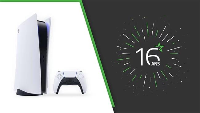 Tentez de remporter une PS5 avec le jeu anniversaire Les Numériques