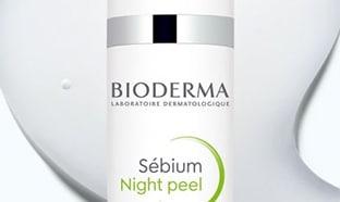 TEst Bioderma : Soins Sébium Night Peel gratuits