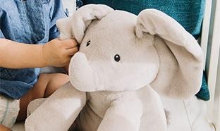 Test gratuit de la peluche Flappy l'Eléphant Gund