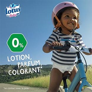 Test Lotus : 150 packs de couches Baby Natural Touch gratuits