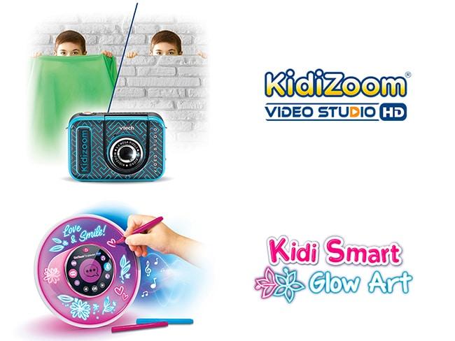 Testez gratuitement le Kidizoom ou le Kidismart de VTech avec Sampleo