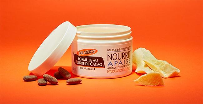 testez gratuitement le beurre de soin solide au beurre de cacao Palmer's avec Sampleo