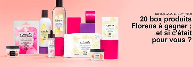 Tentez de gagner votre coffret de 8 cosmétiques Florena Fermented Skincare