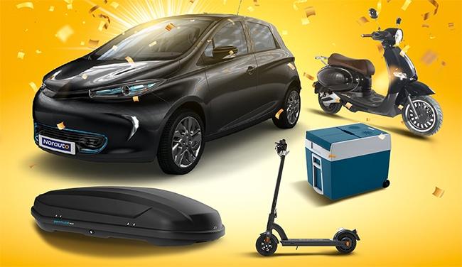 Voiture, vélos électriques et lots high-tech à gagner avec Norauto
