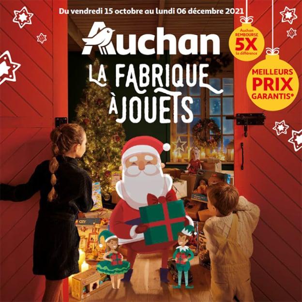Catalogue Auchan Noël 2021 à consulter en ligne et Promos