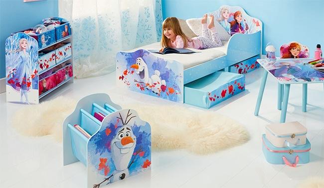 Tentez de gagner une chambre complète La Reine des Neiges avec La Grande Récré
