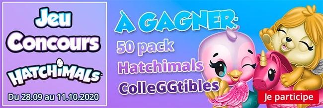 Tentez de gagner un pack de jouets Hatchimals avec Maxitoys