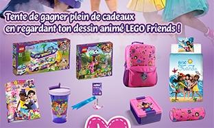 Jeu Gulli : 30 lots de cadeaux LEGO Friends à gagner