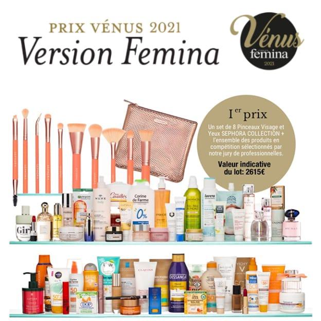 Jeu Prix des Vénus Version Fémina 2021