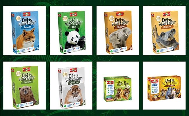 Collectez 4 vignettes pour obtenir 50% de réductions sur les jeux Défis Nature de Bioviva