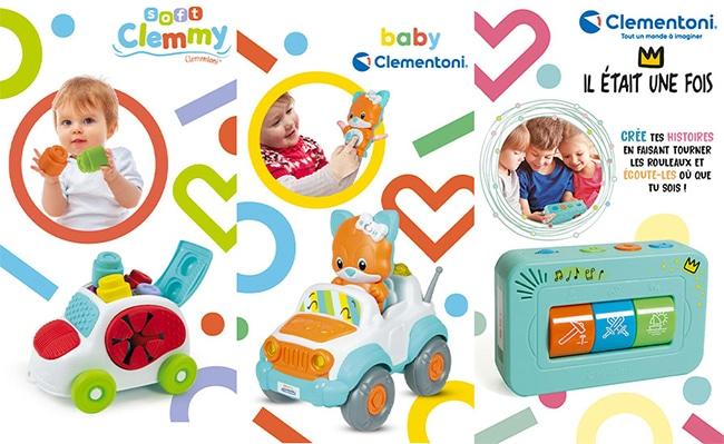 Testez gratuitement les jouets Clementoni avec Sampleo