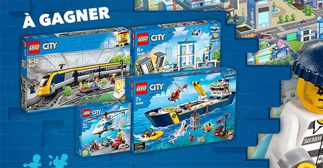 Tentez de remporter un cadeau LEGO CITY avec Gulli