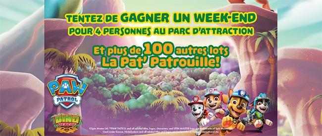 Tentez de gagner des places pour le Movie Parc ou l'un des 100 cadeaux Pat'Patrouille avec JouéClub