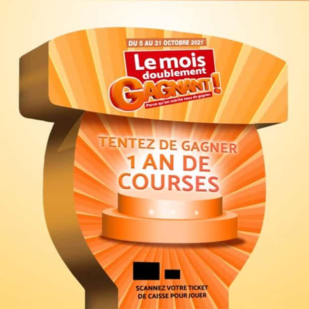 Jeu Netto vous fait gagner vos courses : 2ème chance sur Netto.fr