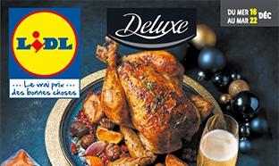 Catalogue Lidl «Deluxe» du 16 au 22 décembre 2020