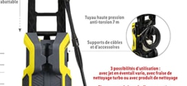 Lidl : Nettoyeur haute pression Parkside à petit prix