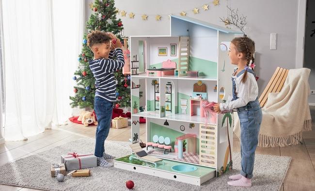 Maisons de poupée géante à 89,99€ chez Lidl : 130cm de bonheur !