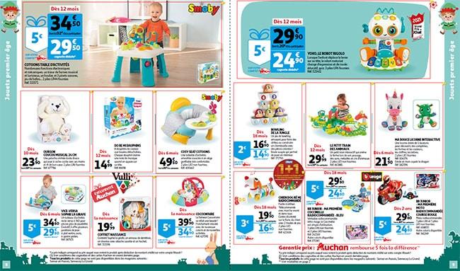 Prospectus des jouets de Noël 2021 des magasins Auchan