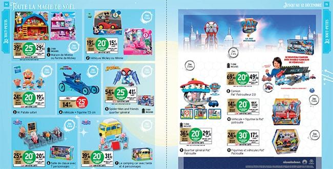 Prospectus Intermarché de jouets de noël