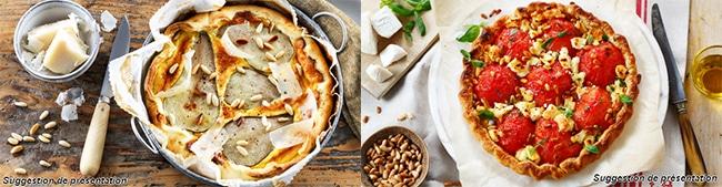 Testez gratuitement les pâtes brisées ou feuilletées Herta Tarte en Or