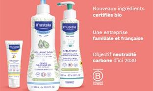 Test Mustela : 1000 packs de soins aux ingrédients bio gratuits