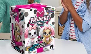 Test de la peluche interactive Present Pets : 25 gratuites