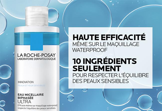 tester gratuitement l'eau micellaire biphasée Ultra La Roche-Posay