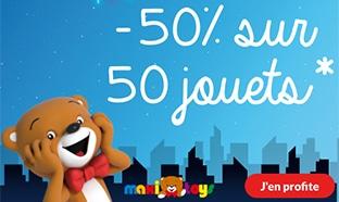 Black Friday Maxi Toys : Jouets à -50% (réduction immédiate)