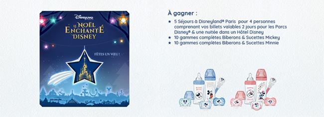 Tentez de remporter un coffret Dodie Disney ou un séjour en famille à Disneyland Paris
