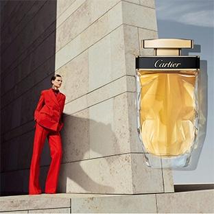 Échantillons gratuits du parfum Cartier La Panthère