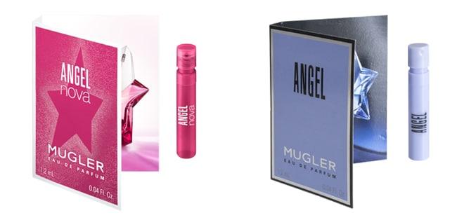 Recevez une dose d'essai d'Angel ou un échantillon gratuit d'Angel Nova de Mugler