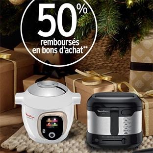 Promo Intermarché : Petit électroménager remboursé à 50% en bons d'achat