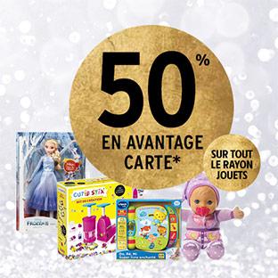 Intermarché Drive : 50% de remise fidélité sur tous les jouets