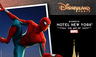 Jeu Disneyland Leclerc Deviens un héros avec les Marvel