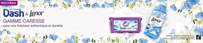 Tentez de gagner un pack Dash Allin Pods & Lenor avec Envie de Plus