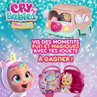 Jeu concours Gulli : 23 jouets Cry Babies à remporter