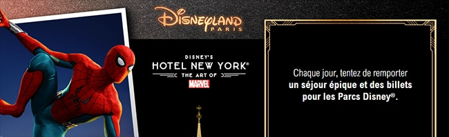 Jeu Disneyland Leclerc Marvel