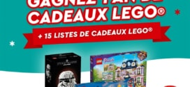 Jeu Noël magique LEGO : 1 an de cadeaux et 60 boîtes à gagner