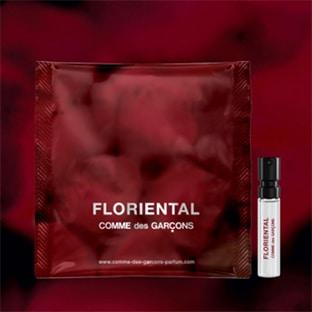 Échantillons gratuits de parfums Comme des Garçons